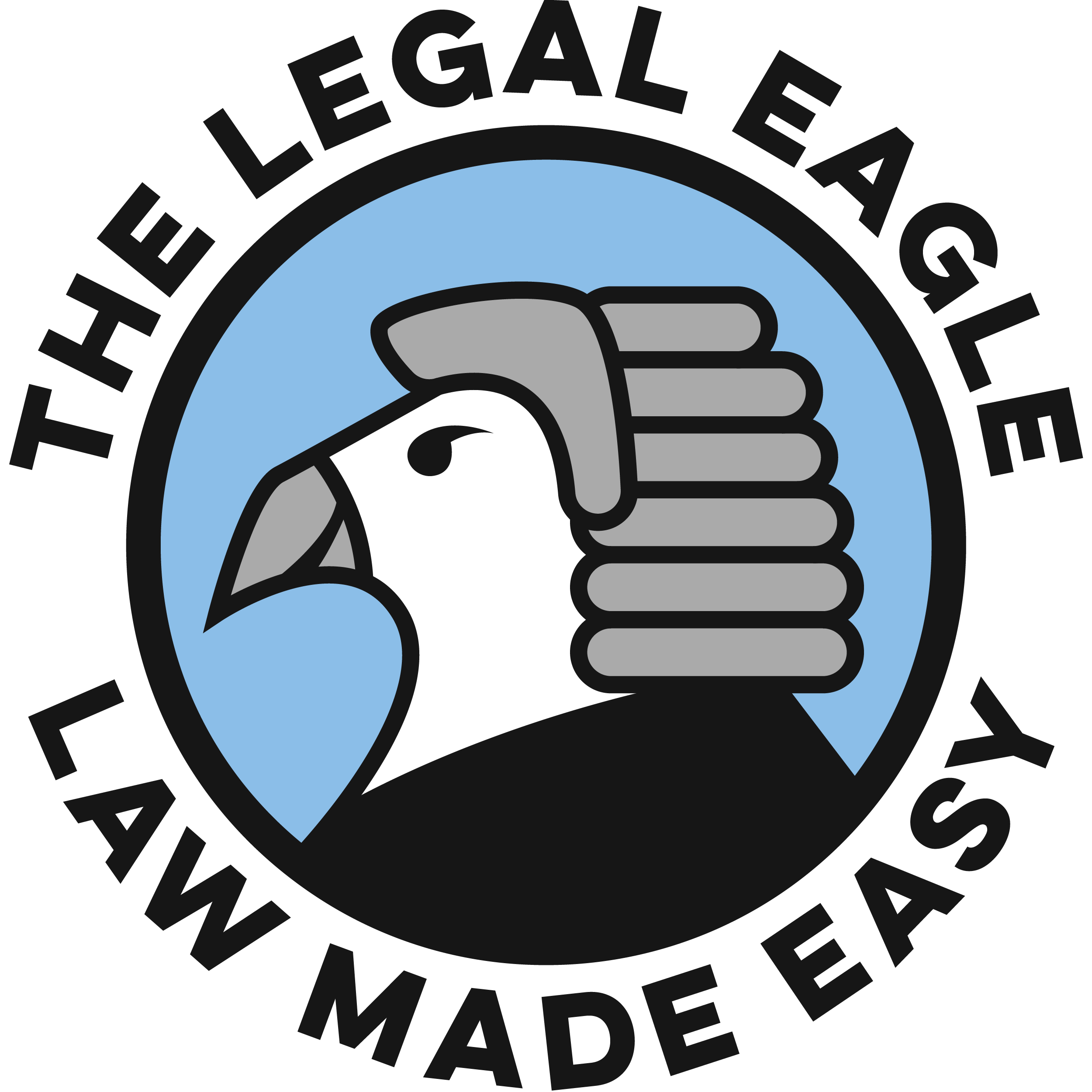 THE LEGAL EAGLE - LAW MADE EASY